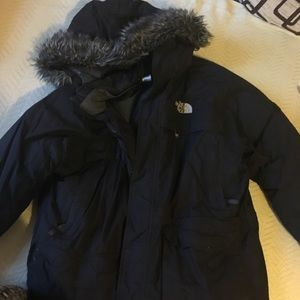 Men's north face winter coat-great condition